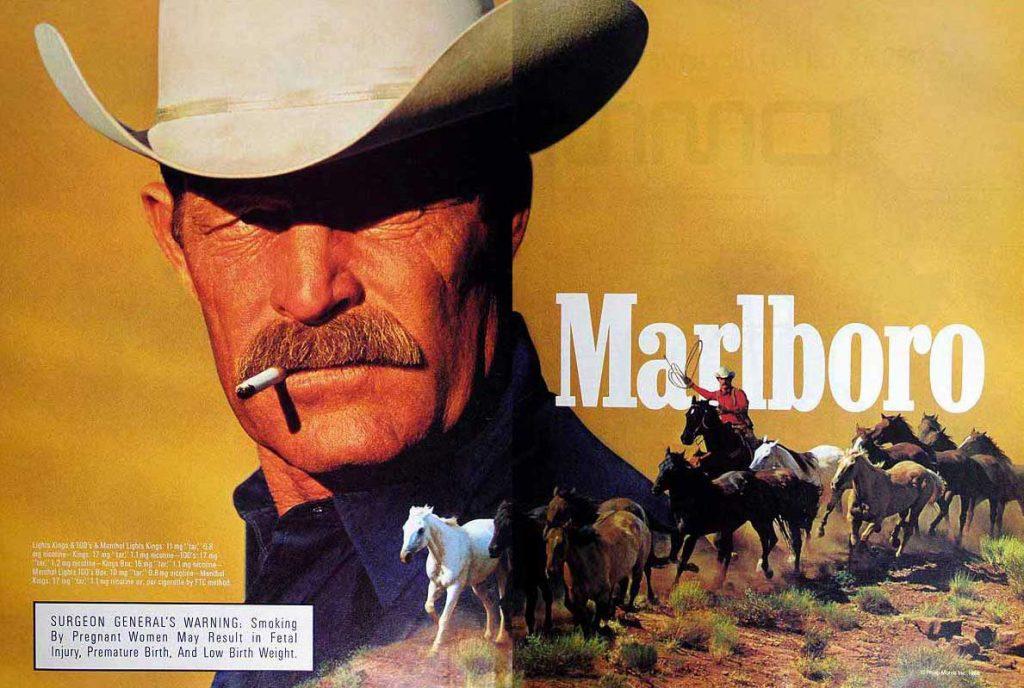 Marlboro Publicita Cowboy